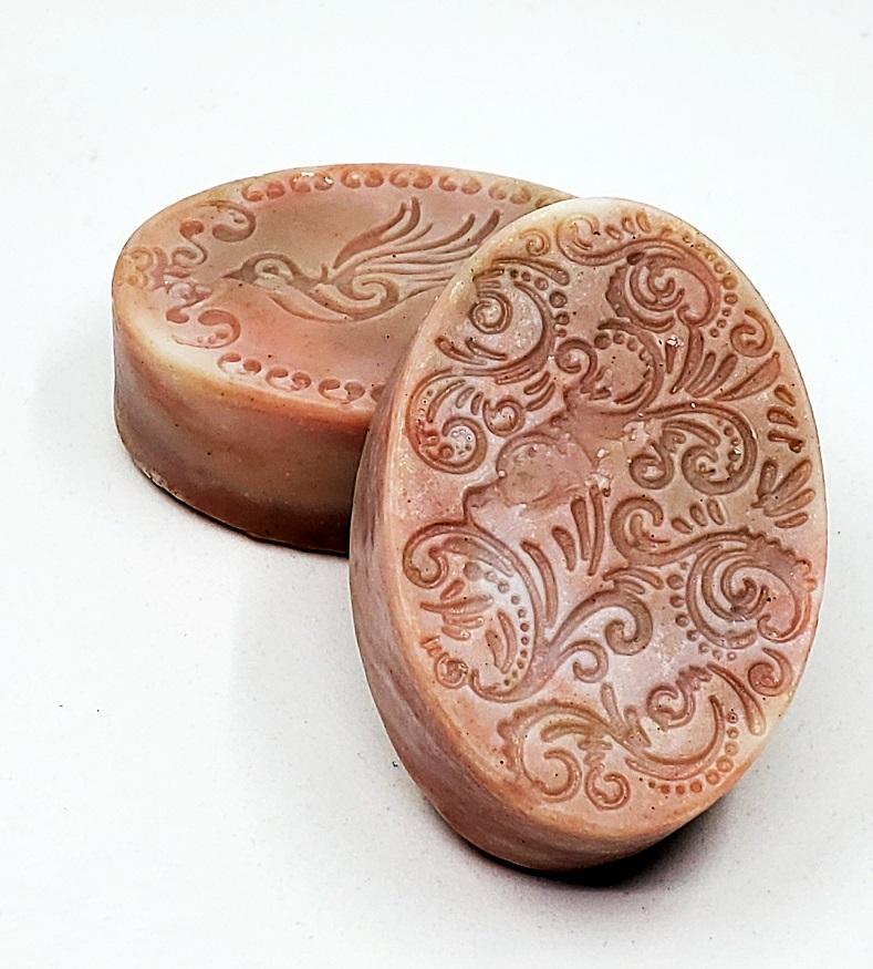 BATH/BODY- SOAP (Rose Facial Cleansing Bar)