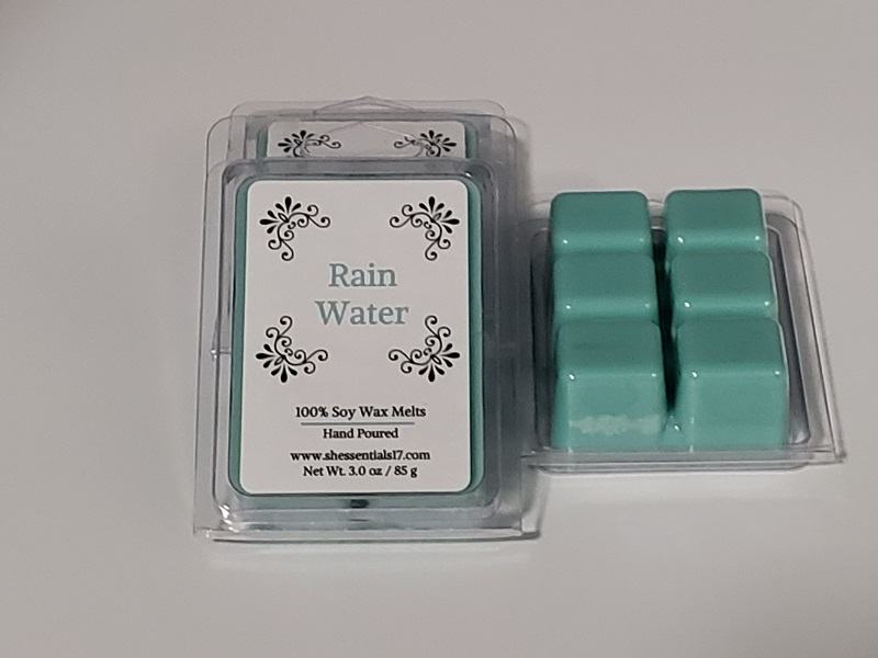 HOME ESSENTIALS- Scented Soy Wax Melts (Rain Water)
