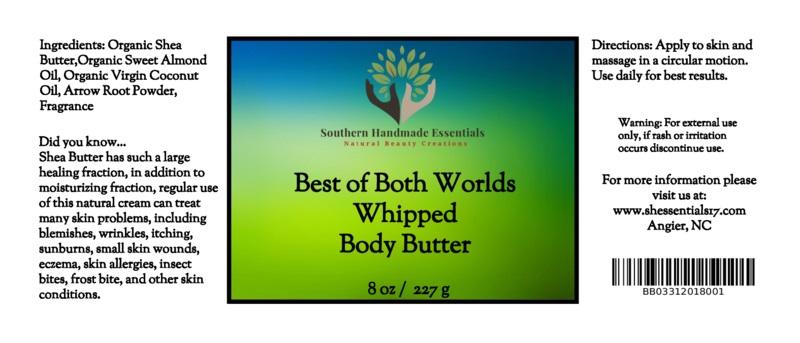 Best of Both Worlds Shea Body Butter