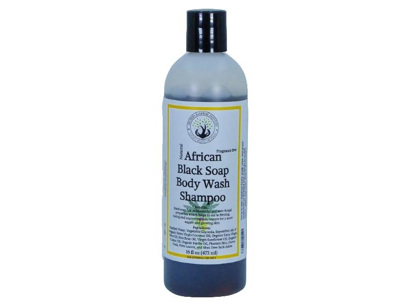 BATH/BODY- Body Wash & Shampoo (African Black Soap)