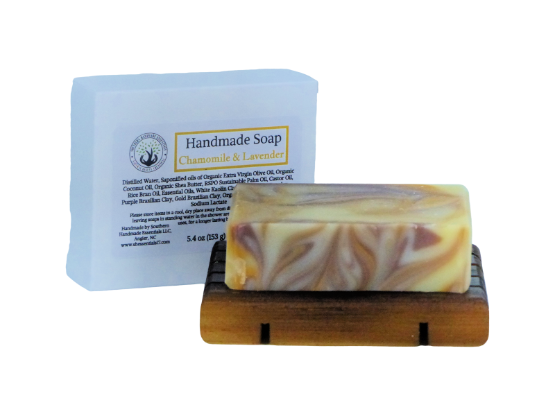 BATH/BODY- SOAP (Chamomile and Lavender)