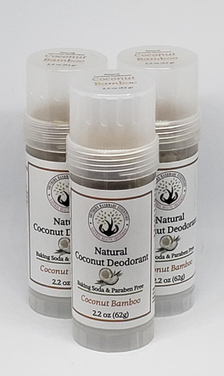 Natural Deodorant-Coconut Bamboo (Baking Soda Free)