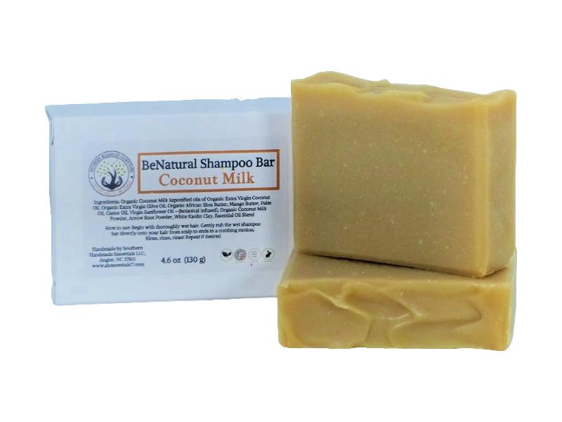 HAIR- BeNatural (Coconut Milk Shampoo Bar)
