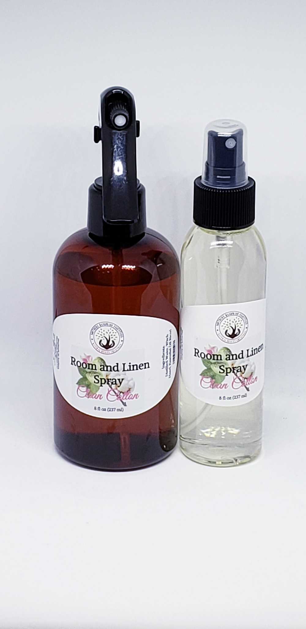 Home Essentials- Natural Aroma Room & Linen Spray (Clean Cotton)