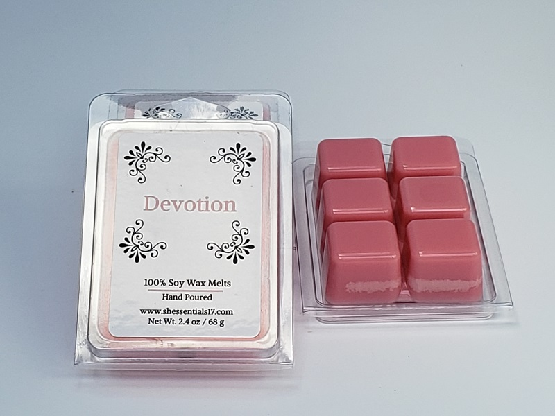 Home Essentials- Scented Soy Wax Melts (Devotion)