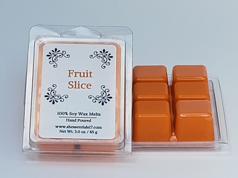 Home Essentials- Scented Soy Wax Melts (Fruit Slice)