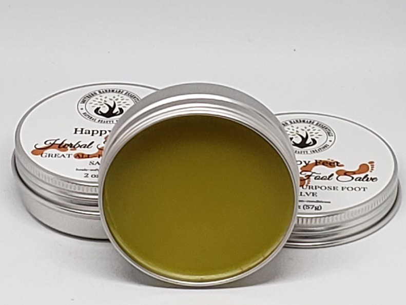 HERBAL SALVE- Happy Feet