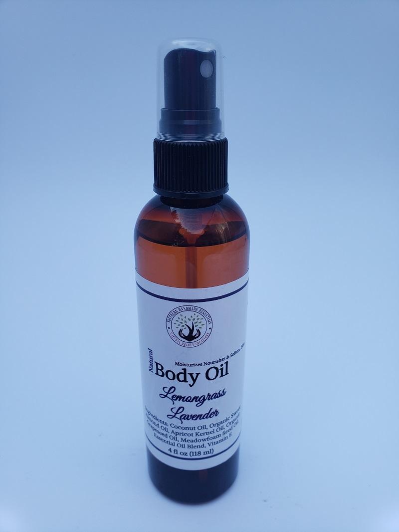 BATH/BODY- Oil (Lemongrass & Lavender)