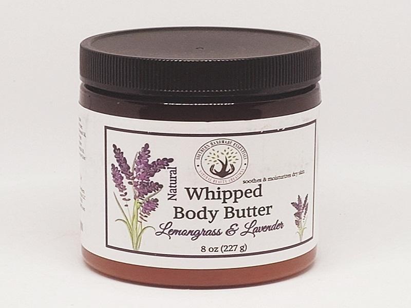 BATH/BODY- Whipped Shea Butter (Lemongrass & Lavender)