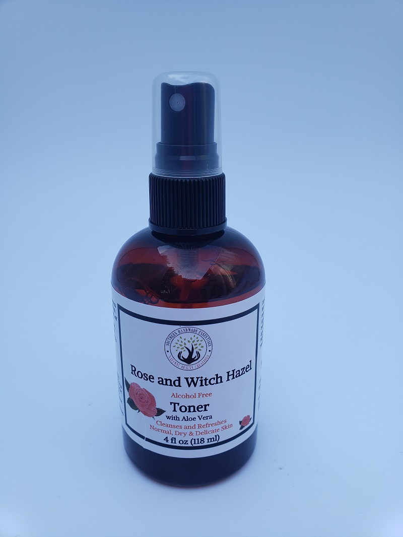 FACIAL- Rose and Witch Hazel Facial Toner
