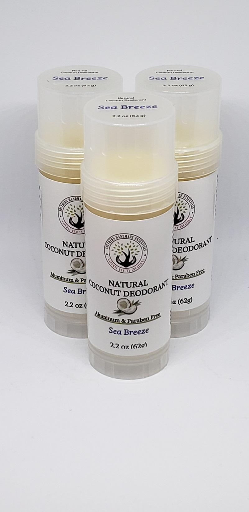 Natural Deodorant-Sea Breeze