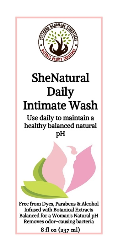 Feminine Hygiene- SheNatural Daily Intimate Wash