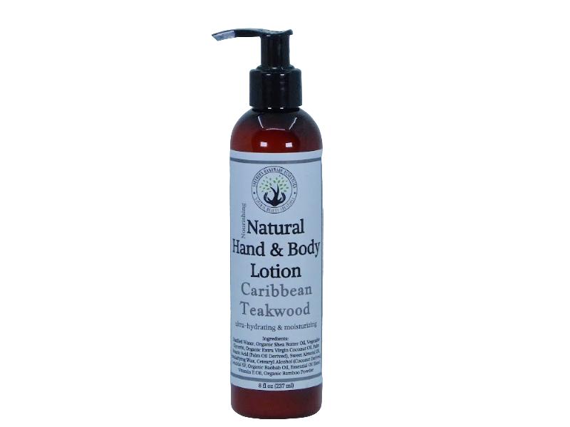 BATH/BODY- Lotion (Caribbean Teakwood)