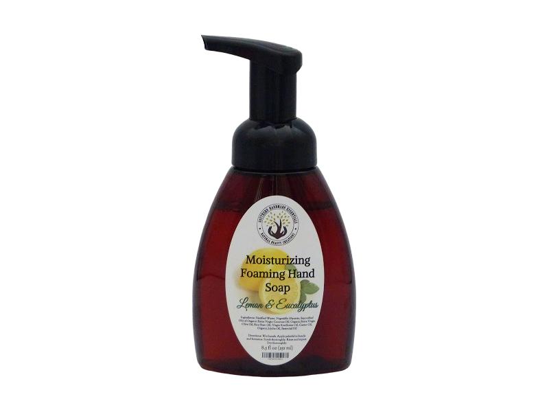 HOME ESSENTIALS- Foaming Hand Soap (Lemon and Eucalyptus)