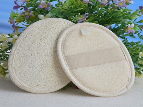 Accessories- Natural Loofah Luffa Bath Shower Sponges and Washing Pads (2)